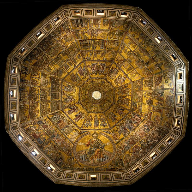 Batisterio - Mosaico o Último Julgamento