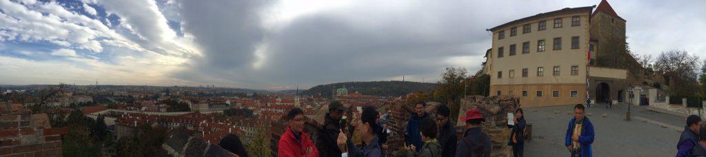 Praça do Castelo de Praga