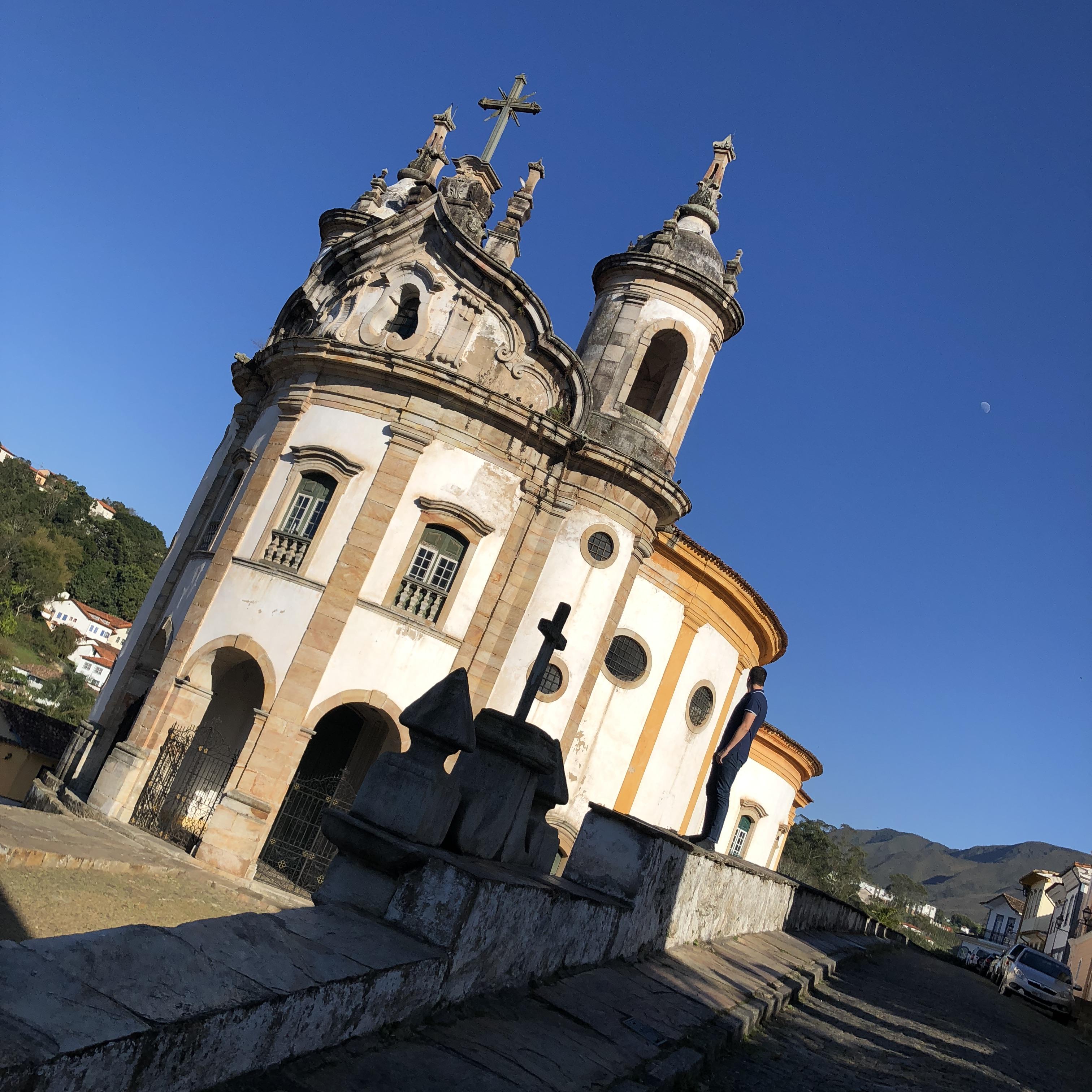 Ouro Preto - Igreja de Nossa Senhora do Rosário dos Pretos