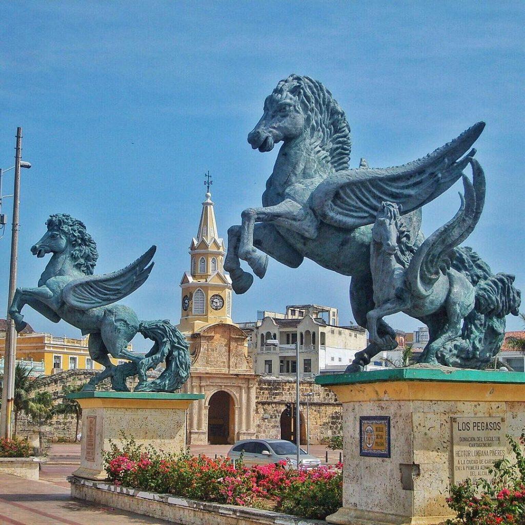 Muelle de los Pegasos - Cartagena